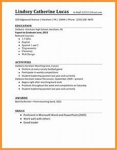 Sample First Job Resume Resume Format For Job Application First Time