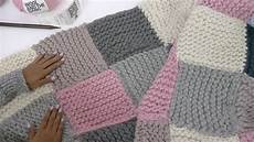 knitting blanket how to knit a patchwork blanket with pictures wikihow