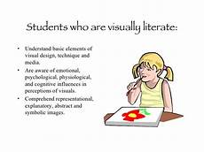 Visual Literacy Definitions Visual Literacy And The Arts