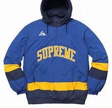 supreme jacket supreme hockey pullover jacket size 12 l tradesy