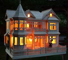 Barbie Doll House With Lights Victorian Barbie 174 House Woodworking Plan Forest Street