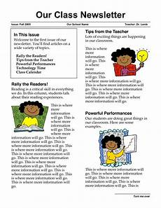 Examples Of Newsletters For Parents From Teachers Newsletter Templates For Teachers Newsletter Templates