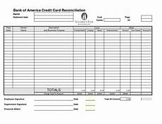 Credit Card Balance Sheet Template Credit Card Reconciliation Template Charlotte Clergy