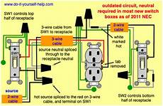 Split One Light Fixture Into Two Light Switch Wiring Diagrams Do It Yourself Help Com