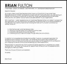 Cover Letter For Inside Sales Position Inside Sales Representative Cover Letter Sample Cover