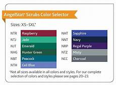 Scrub Color Chart Unisex Scrubs By Medline Scrubs Unlimited