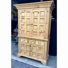 Baker Knapp And Tubbs Lighting Baker Knapp Amp Tubbs English Style Pine Cabinet Chairish