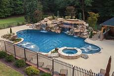 luxury swimming pools from signature greenville sc