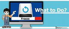 What To Do When Computer Freezes What To Do If Computer Freezes During Data Backup Data