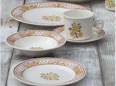 vintage USA Royal China Americana Tiffany pottery