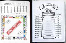Money Saving Tracker 13 Bullet Journal Finance Logs To Track Your Worth