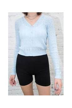 Melville Light Blue Sweater Shannon Sweater In Light Blue Melville Eu