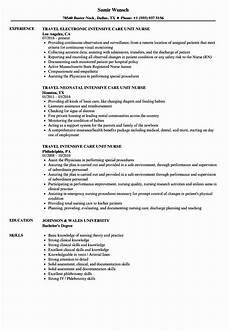 Cardiac Nurse Resume Cardiac Icu Nurse Resume Fresh Intensive Care Unit Nurse