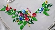 embroidery ring bullion stitch flowers bordados a