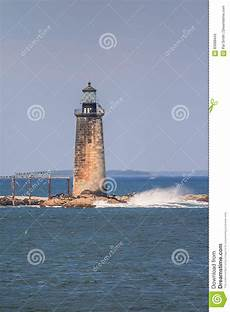 Ram Island Ledge Light Station Ram Island Ledge Light Maine Imagem De Stock Imagem De