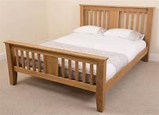 boston solid oak 4ft 6 quot bed oak furniture king