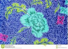 Southeast Asian Designs Popular Batik Sarong Pattern Background In Thailand