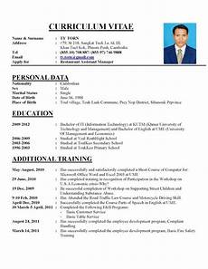 Resume Prepare How To Prepare Cv Format Letters Free Sample Letters