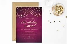 Elegant Party Invites Elegant 50th Birthday Party Invite Invitation Templates
