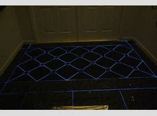 Front Entry Foyer with Glow in the Dark Grout   Eclectic   Miami   by Charles McGlaughlin