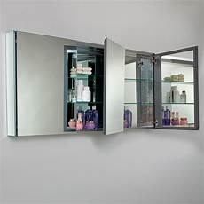 fresca 60 quot x 26 quot recessed or surface mount frameless