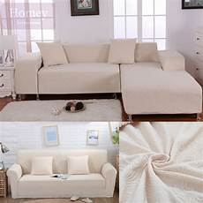 White Sofa Cover 3d Image by White Sofa Cover Thicken Fabric Corner Jacquard
