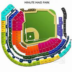 Minute Park Detailed Seating Chart Minute Park Seating Chart