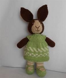 stricken kuscheltier kuscheltiere kaninchen hasen stricken ein