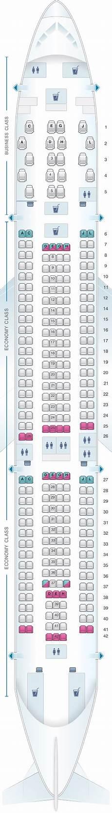 Iberia 2622 Seating Chart Seat Map Iberia Airbus A330 200 Iberia Seat Maps