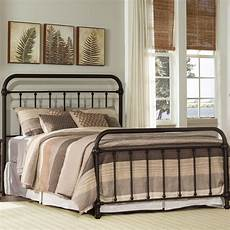 hillsdale metal beds classic king metal bed vandrie home