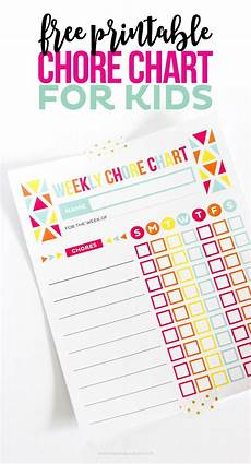 Where To Buy Chore Charts Chore Charts For Kids Keep Kids On Track Using My Free