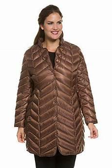 light coats for popken ulla popken s plus size quilted coat brown