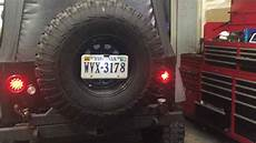 Frenched Led Lights Frenching In Jeep Tj Led Lights Ocd Offroad Shop