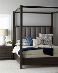 furniture liesel tufted california king canopy bed