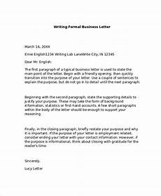 Best Business Letters Free 7 Formal Business Letter Formats In Pdf Ms Word