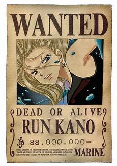 one wanted poster by runkano on deviantart