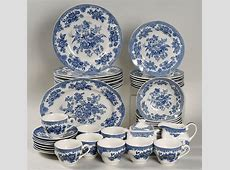 Blue And White Dinnerware Sets & Blue And White Dinnerware