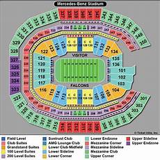 Seating Chart Mercedes Benz Atlanta United Atlanta Falcons Tickets 2018 Atl Falcons Tickets