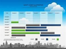 Gantt Chart Presentation Colorful Gantt Chart Presentation Template Chart