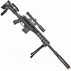 p2668 tactical airsoft sniper rifle with scope and