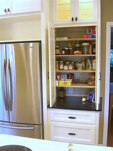 narrow pantry cabinet interior design inspirations
