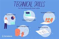 List Of Technical Skills Examples List Of Important Technical Skills With Examples