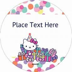 Hello Kitty Birthday Template Hello Kitty Templates Hello Kitty Birthday Labels And
