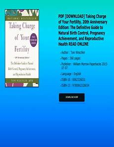 Toni Weschler Chart Fillable Taking Charge Of Your Fertility By Toni Weschler