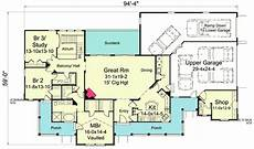 Car Showroom Design Standards Pdf Ranch Home Plan For The Car Enthusiast 57273ha
