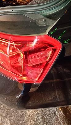 2014 Impala Light Gasket Recall 2014 Impala Trunk Leaks Chevrolet Forum Chevy