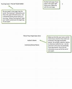 Apa Sample Paper Title Page Apa Sample Paper Title Page How To Write Apa Format