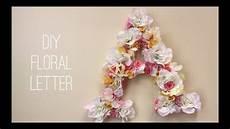 flower wallpaper letter diy floral letter