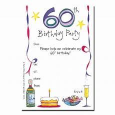 Free Printable 60th Birthday Invitations Templates Invitations For 60th Birthday Party Free Printable