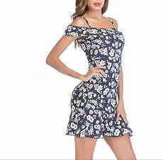 sleeve floral dress straps 2018 summer s chiffon dresses ruffleless